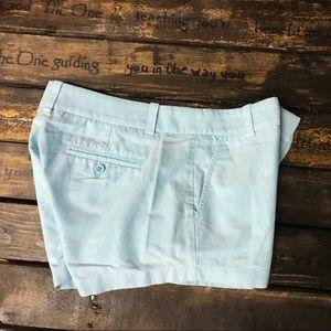 J Crew Light Blue Shorts